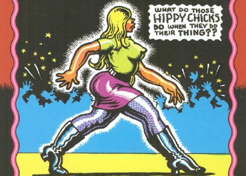 particolare di copertina di Snatch Comics, ripreso dalla versione italiana di Karoo, Adelphi