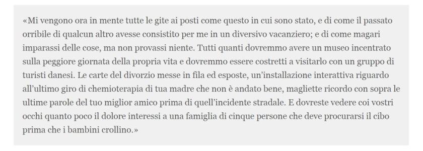 """parte dell'articolo di Steve Kandell per """"Buzzfeed"""", traduzione in italiano da """"Il post"""""""