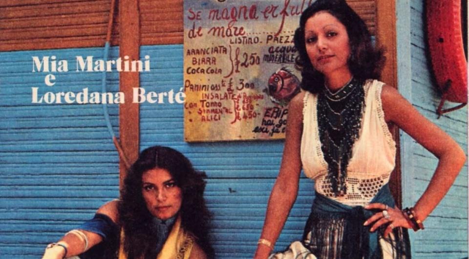 copertina album Mia Martini e Loredana Bertè