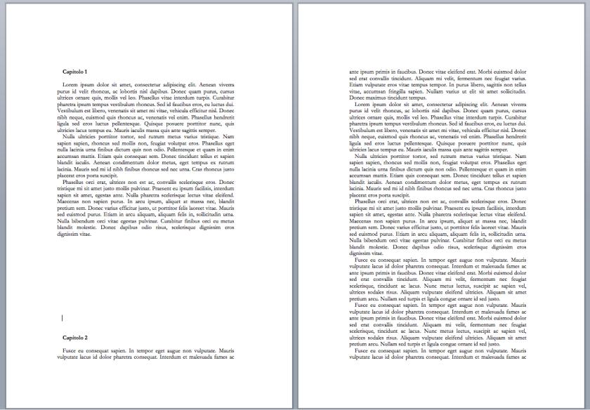 capitolo a fondo pagina